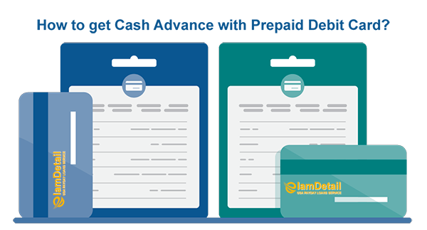 How to get cash advance with prepaid debit card